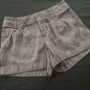 Banana Republic Linen Shorts Size 6